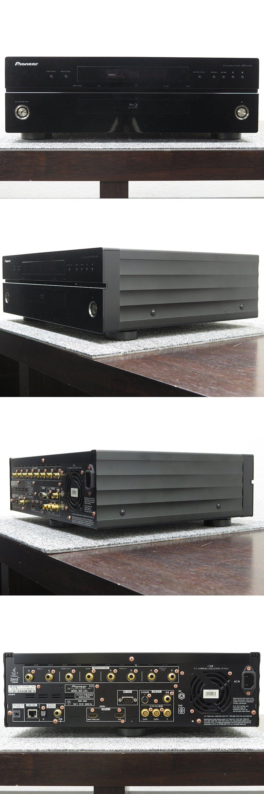 パイオニア Pioneer BDP-LX91 BDプレーヤー @20766 / 中古オーディオ買取、販売、通販の ...